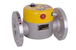 Elektrozawór klapowy typu MAG - 3. Dostępne rozmiary z przyłączem kołnierzowym DN 50, DN 100